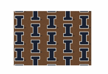 "Illinois 3'10"" x 5'4"" Premium Pattern Rug"