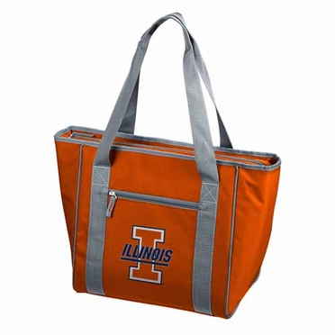 Illinois 30 Can Tote Cooler