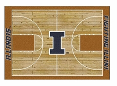 "Illinois 5'4"" x 7'8"" Premium Court Rug"