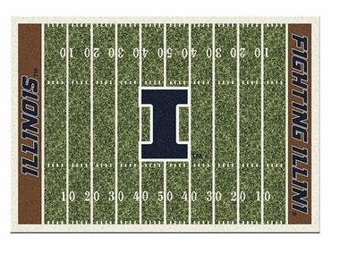 "Illinois 5'4"" x 7'8"" Premium Field Rug"