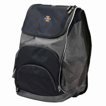 Illinois Action Backpack (Color: Black)