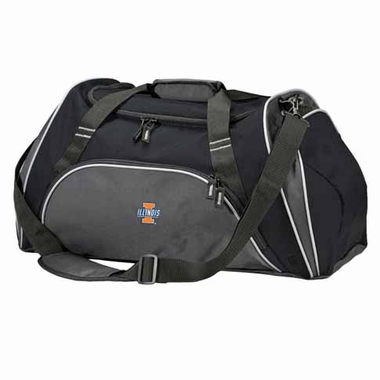 Illinois Action Duffle (Color: Black)