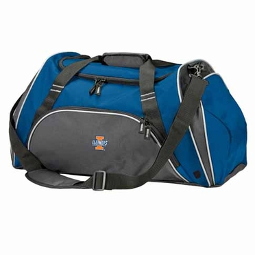 Illinois Action Duffle (Color: Royal)