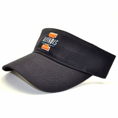Illinois Adjustable Birdie Visor