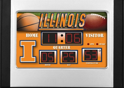 Illinois Alarm Clock Desk Scoreboard