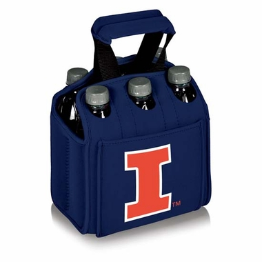 Illinois Beverage Buddy (6pk) (Navy)