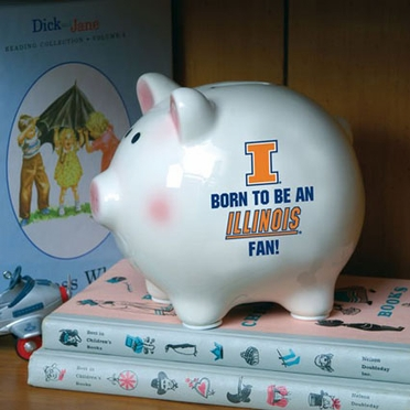 Illinois (Born to Be) Piggy Bank