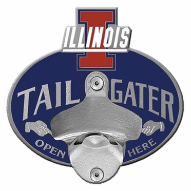 Illinois Bottle Opener Hitch Cover
