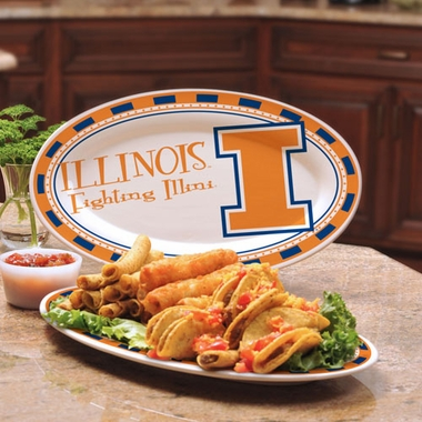 Illinois Ceramic Platter