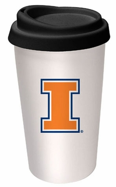 Illinois Ceramic Travel Cup