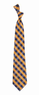 Illinois Check Poly Necktie