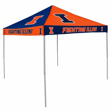 Illinois Checkerboard Tailgate Tent
