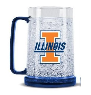 Illinois Crystal Freezer Mug