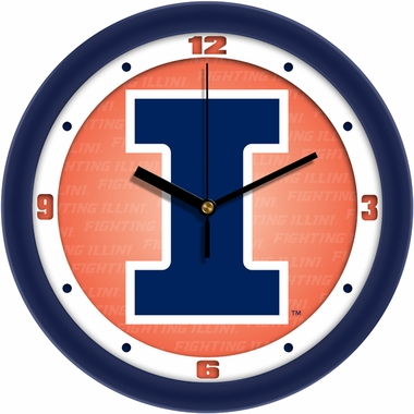 Illinois Dimension Wall Clock