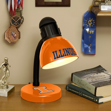 Illinois Dorm Lamp