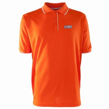 Illinois Mens Elite Polo Shirt (Team Color: Orange)