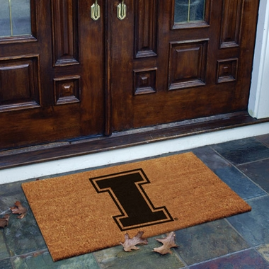 Illinois Flocked Coir Doormat