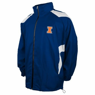 Illinois Full Zip Packable Lightweight Jacket