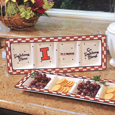 Illinois Gameday Relish Tray