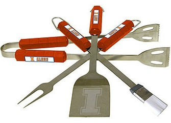 Illinois Grill BBQ Utensil Set