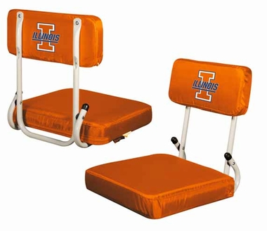 Illinois Hard Back Stadium Seat