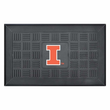Illinois Heavy Duty Vinyl Doormat