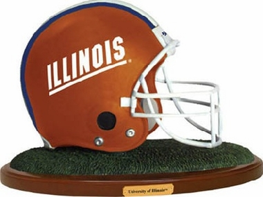 Illinois Helmet Figurine
