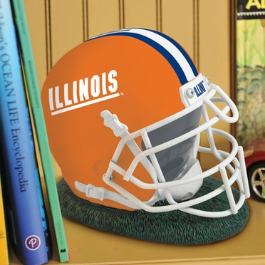 Illinois Helmet Shaped Bank
