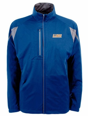 Illinois Mens Highland Water Resistant Jacket (Team Color: Royal)