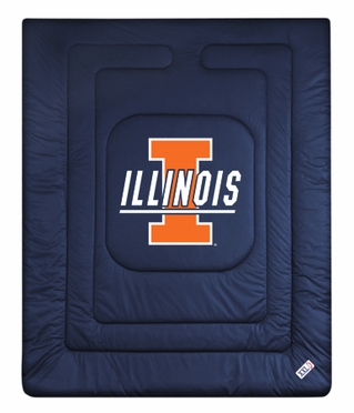 Illinois Jersey Material Comforter