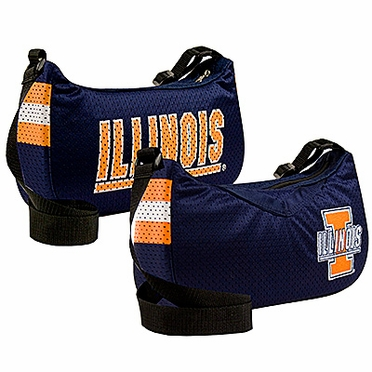 Illinois Jersey Material Purse