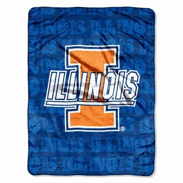 Illinois Microfiber Lightweight Blanket