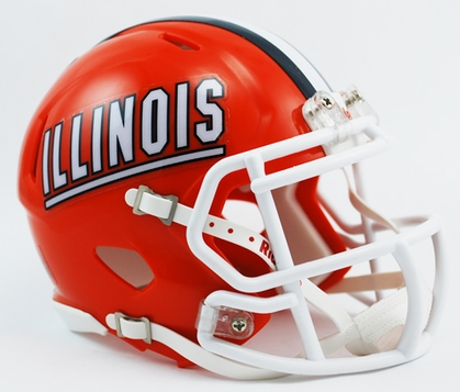Illinois Mini Replica Helmet