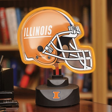 Illinois Neon Display Helmet