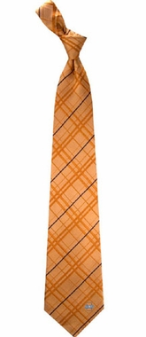 Illinois Oxford Stripe Woven Silk Necktie