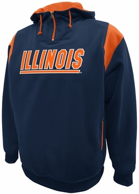 Illinois Pick Six Hooded Premium Sweatshirt