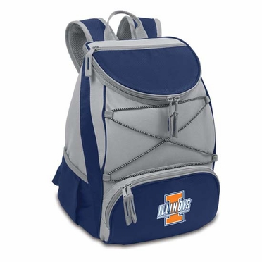 Illinois PTX Backpack Cooler (Navy)