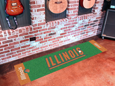 Illinois Putting Green Mat
