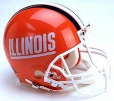 Illinois Riddell Full Size Authentic Helmet