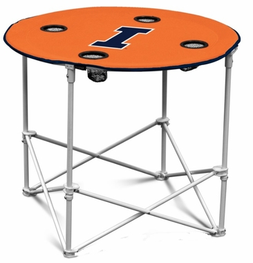 Illinois Round Tailgate Table