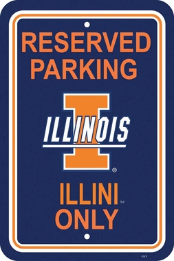 Illinois Plastic Parking Sign (P)