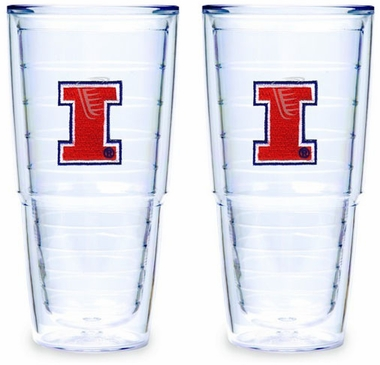 Illinois Set of TWO 24 oz. Tervis Tumblers