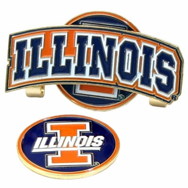 Illinois Slider Clip With Ball Marker