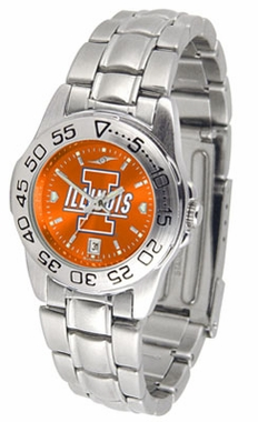 Illinois Sport Anonized Women's Steel Band Watch