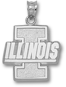 Illinois Sterling Silver Pendant