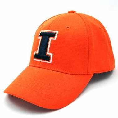 Illinois Team Color Premium FlexFit Hat