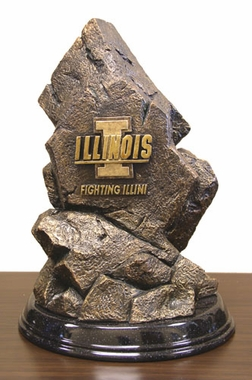 Illinois Tim Wolfe Statue