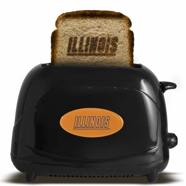 Illinois Fighting Illini Toaster - Black