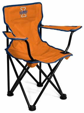Illinois Toddler Folding Logo Chair