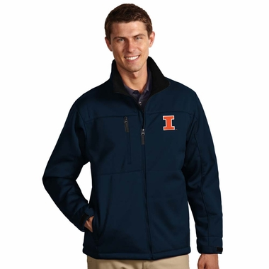 Illinois Mens Traverse Jacket (Team Color: Navy)
